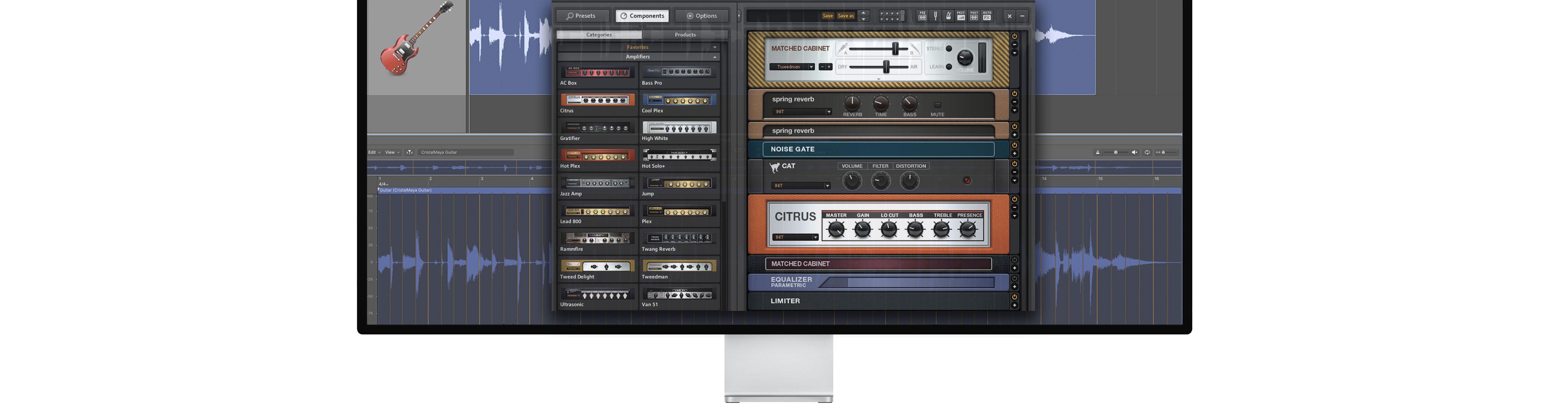 Guitar Amp-2046 47